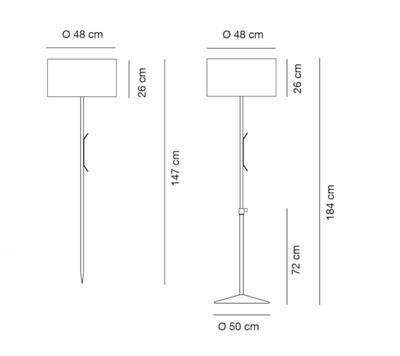 HARRY PLUS - Venkovní stojací lampa - 2