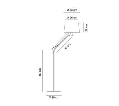 LEKTOR - stojací lampa - 2