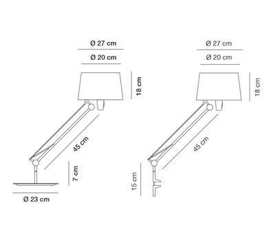 LEKTOR - stolní lampa - 2