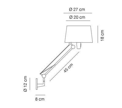 LEKTOR - nástěnná lampa - 2