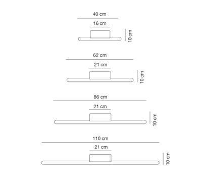 LINEAL - nástěnná lampa - 2