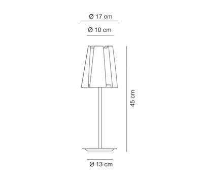 LITTLE TWIST - stolní lampa - 2