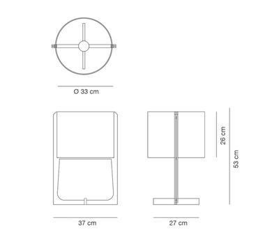 MELINA - stolní lampa - 2