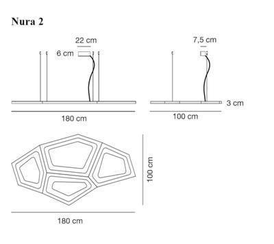 NURA 2 - závěsná lampa - 2