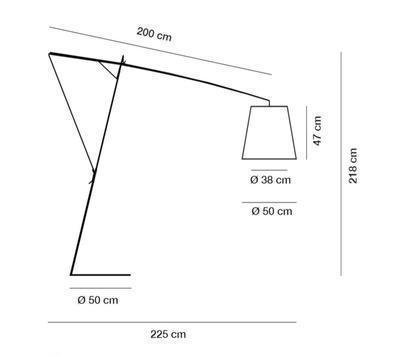 ROBIN - stojací lampa - 2