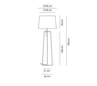 TIFFANY - stojací lampa - 2