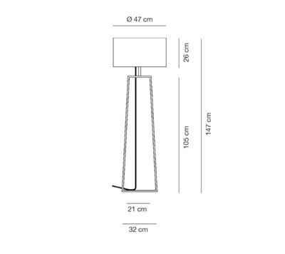 TIFFANY 2 - stojací venkovní lampa - 2
