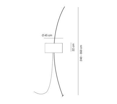 TOTORA - stojací lampa - 2