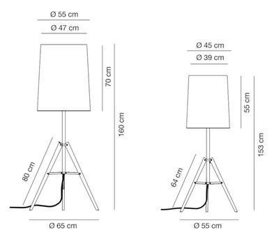 TRIPOD - stojací lampa - 2