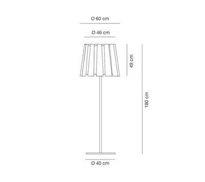 TWIST - stojací lampa - 2