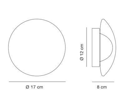 VENUS - stropní nebo nástěnné světlo - 2