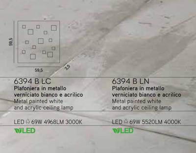 PERENZ - Stropní světlo 6394 - 3