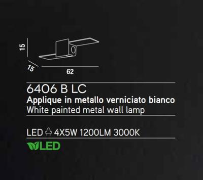 PERENZ - Nástěnné světlo 6406 - 3
