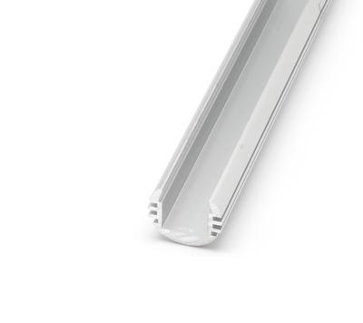 ALU kruhový Profil O-TYPE 18x16 mm krytka matná 1m - 3