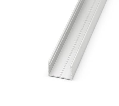 ALU profil přisazený 18x13mm matná krytka 1m - 3