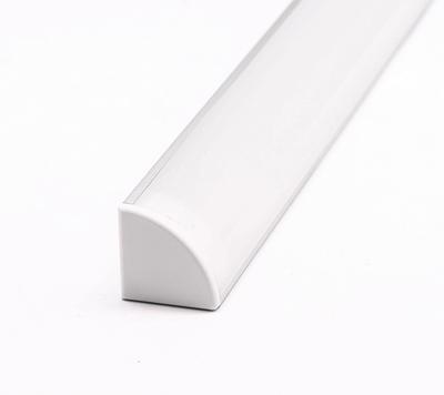 ALU rohový 16x16 délka 1m krytka mat oválná - 3