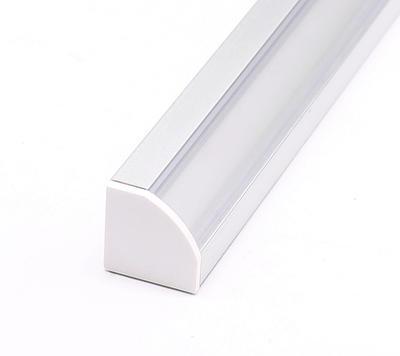 ALU profil rohový 18,5x18,5 délka 2m krytka čirá - 3