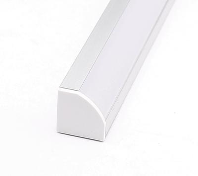 ALU profil rohový 18,5x18,5 délka 2m krytka mat - 3