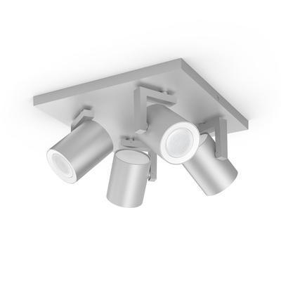 Argenta plate/spiral aluminium 4x5.7W - 3