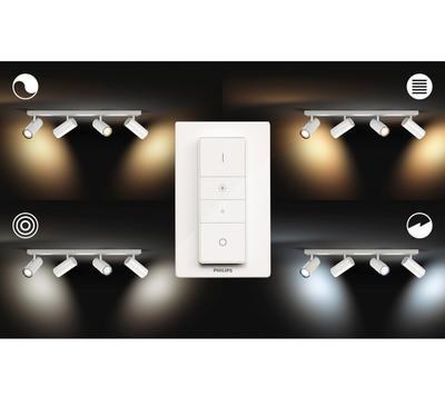BURATTO bar/tube white 4x5.5W 240V - 3