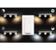 BUCKRAM bar/tube white 3x5.5W 240V - 3/4