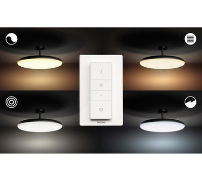 Cher Hue ceiling-pendant lamp black1x39W 4096930P7 - 3