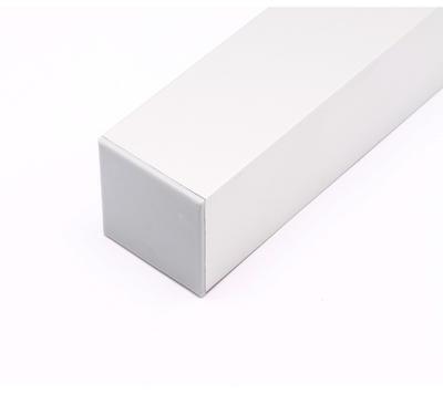Koncovka ALU profil 36x36mm plast šedivá barva - 3