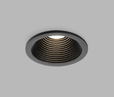 LED2 SPLASH, B 7W 3000K IP54 ZÁPUSTNÉ ČERNÉ - 3