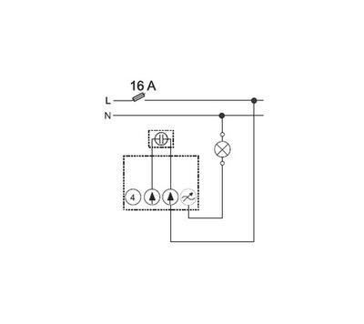 Stmívač LED žárovky LED Dimmer ABB 6523 U-500 - 3