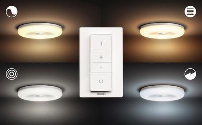 Struana Hue ceiling lamp white 1x32W 24V - 3