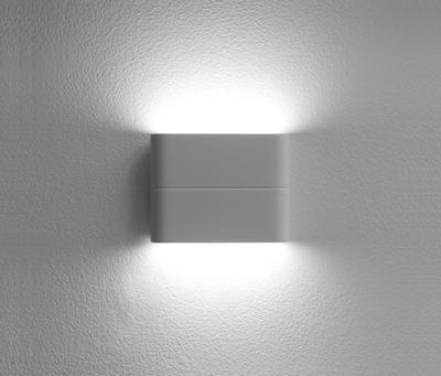 LED2 FLAT S, W NÁSTĚNNÉ BÍLÉ IP54 - 3