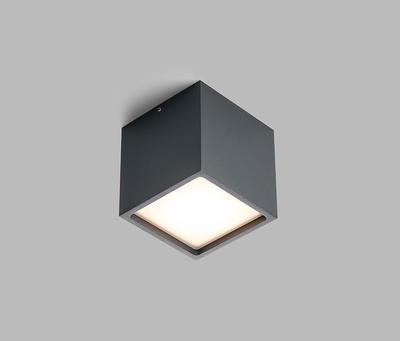 LED2 CUBE, A 12W 3000K STROPNÍ ANTRACITOVÉ - 3