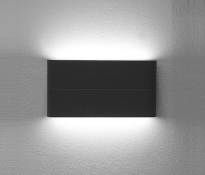 LED2 FLAT L, A NÁSTĚNNÉ ANTRACITOVÉ IP54 - 3