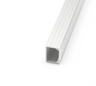 ALU profil přisazený 18x13mm matná krytka 1m - 4