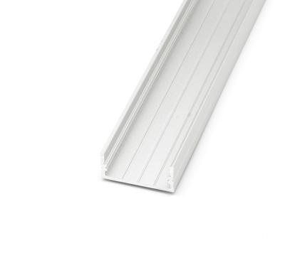 ALU profil přisazený 23x10mm 2m krytka mat - 4