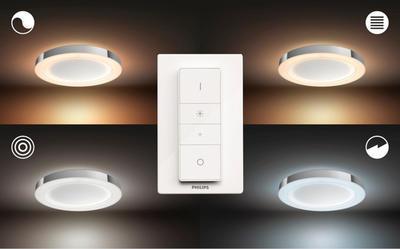 Adore Hue ceiling lamp chrome 1x40W 24V - 4