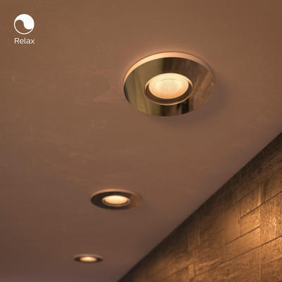 Adore hue recessed chrome 3x5W 230V - 4