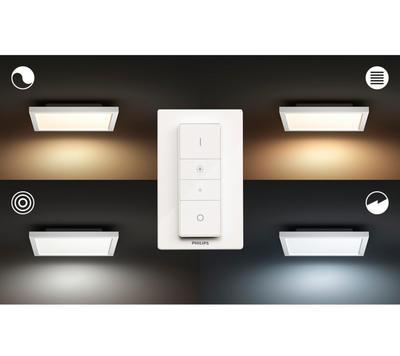 Aurelle ceiling lamp white 28W 230V 30x30 cm - 4