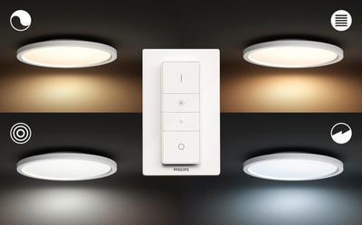 Aurelle ceiling lamp white 28W 230V - 4
