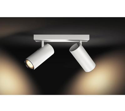 BURATTO bar/tube white 2x5.5W 240V - 4