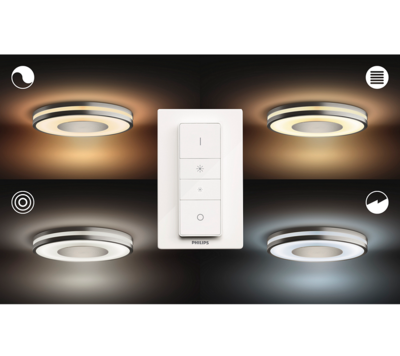 Being Hue ceiling lamp aluminium 1x32W 3261048P7 - 4