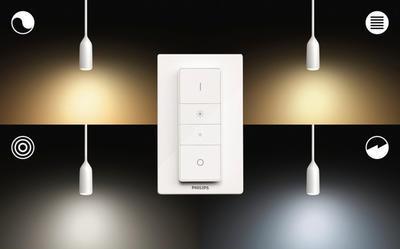Devote Hue pendant white 1x9.5W 230V - 4