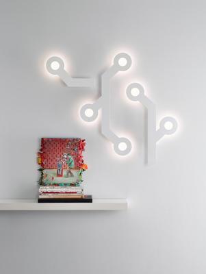HOLES - nástěnná lampa - 4