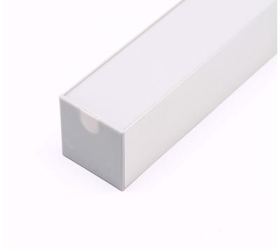Koncovka ALU profil 36x36mm plast šedivá barva - 4