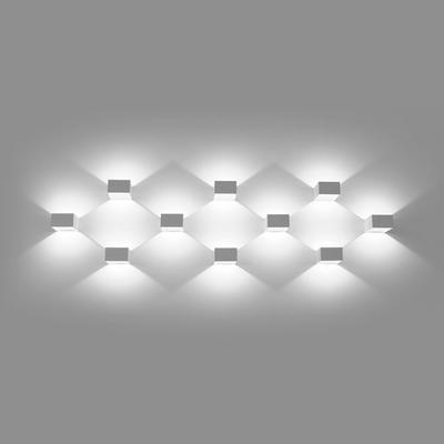 LED2 WALL, Q NÁSTĚNNÉ BÍLÉ - 4