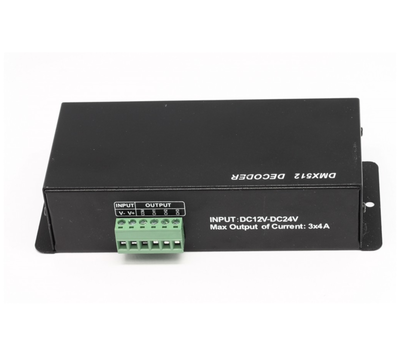 LED DMX ovladač 3x4A - 4