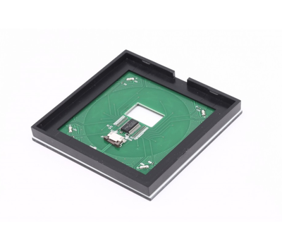 LED RGBW ovladač dotykový panel bílá RF - 4