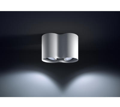 Pillar Hue plate/spiral white 2x5.5W 5633231P7 - 4