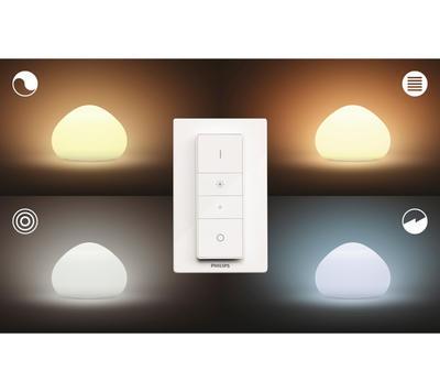 Wellner Hue table lamp white 1x9.5W 4440156P7 - 4