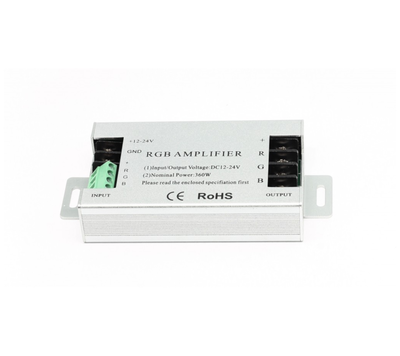 Zesilovač RGB signálu 3x10A - 4